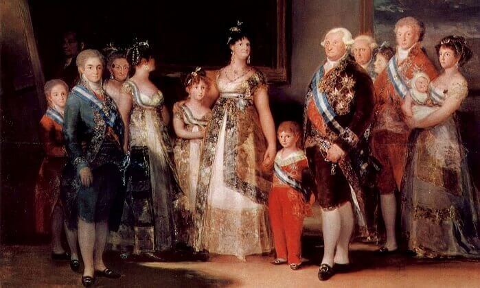 Charles-IV-of-Spain-and-his-family-prado-museum-best-paintings